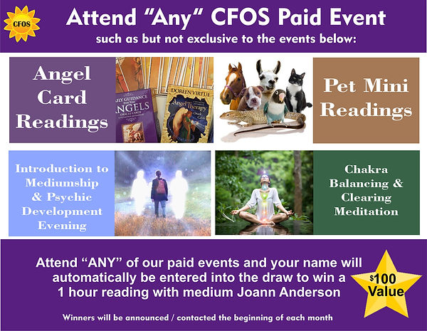 Attend Paid event to win Free Reading wi
