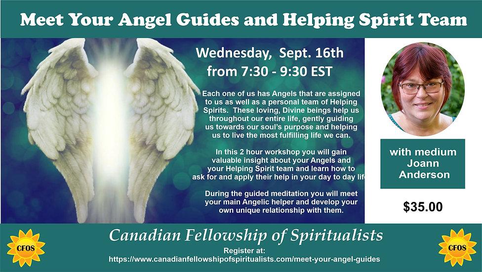 MEET UP SIZE Meet Your Angel Guide Eveni