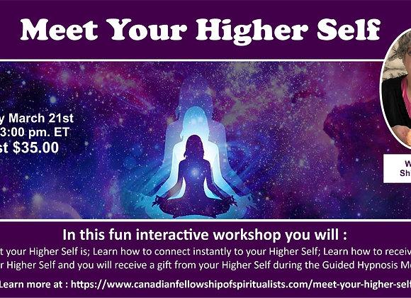 Meet Your Higher Self with Rev. Shiela Scott