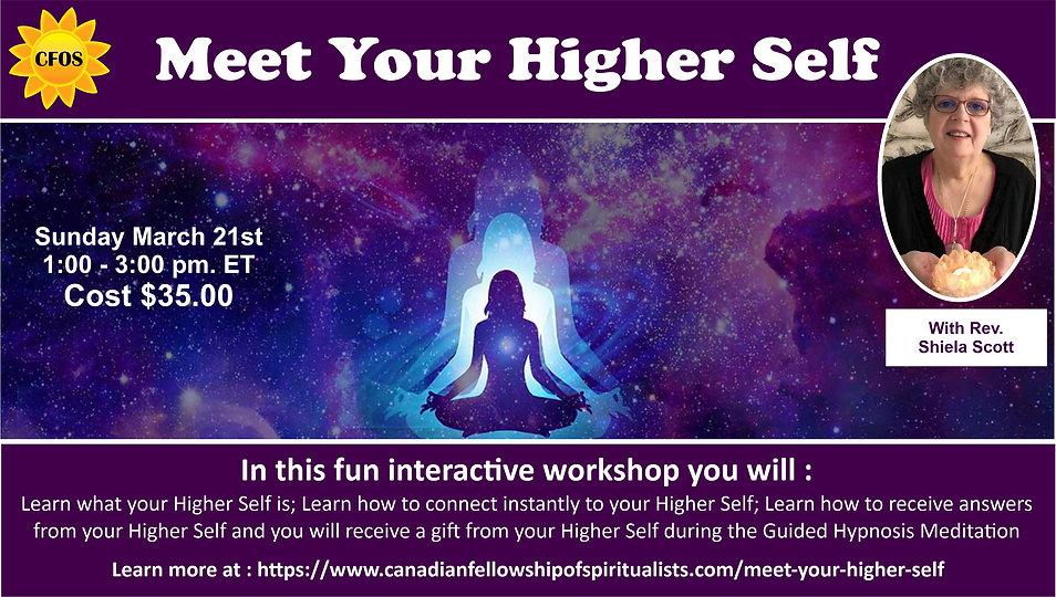 Meet Your Higher Self with Rev Shiela.jp