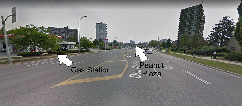 gas station peanut plaza van horne with