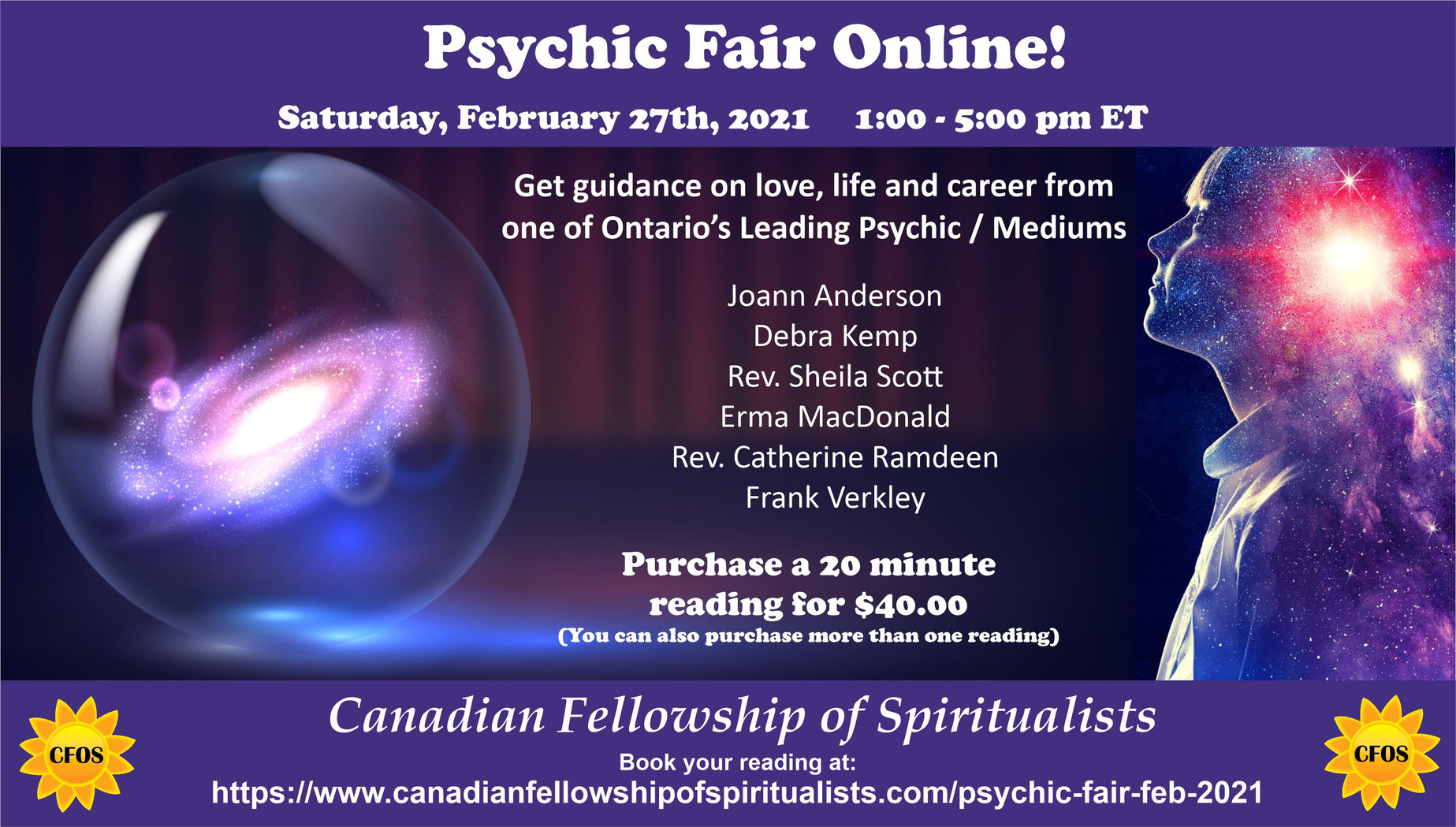 Psychic Fair Feb 2021
