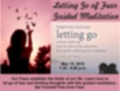 Letting go of fear meditation flyer 1 a.
