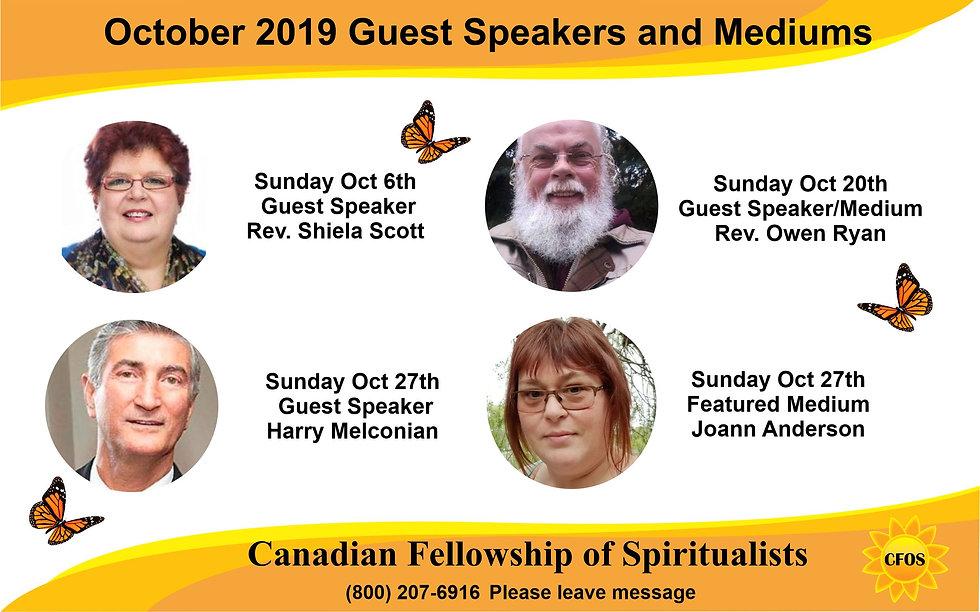 Monthly Guest speaker medium flyer 1 per