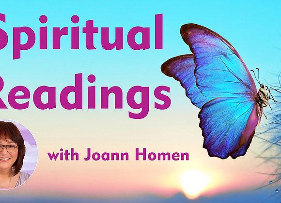 1-Hour Reading with Joann Homen