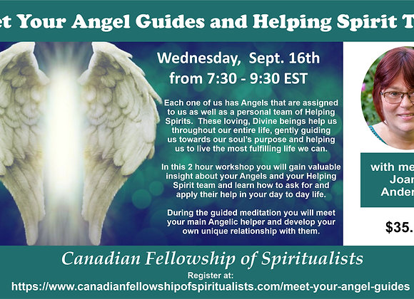 Meet Your Angels & Helping Spirit Team