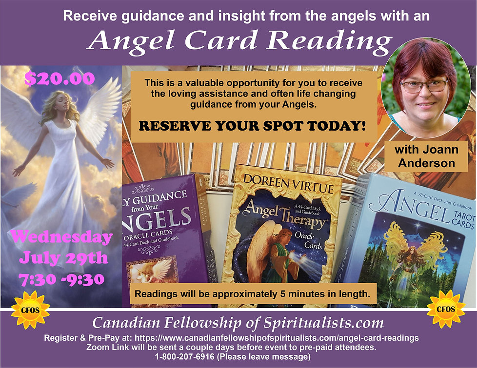 Angel Reading Card July 29th 2020 ver 1
