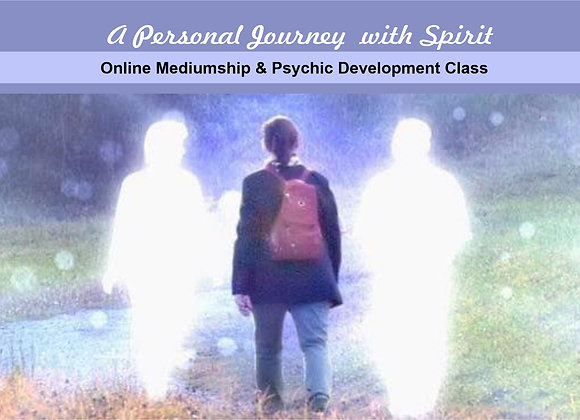 June 11th Mediumship & Psychic Development Online Class