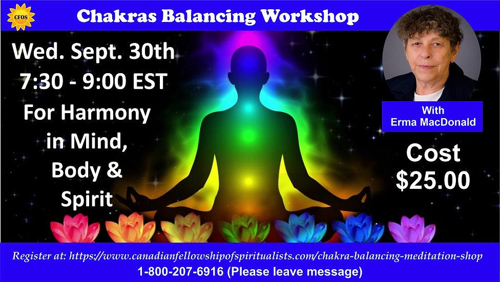 MEET UP SIZE Chakra Balancing and Medita