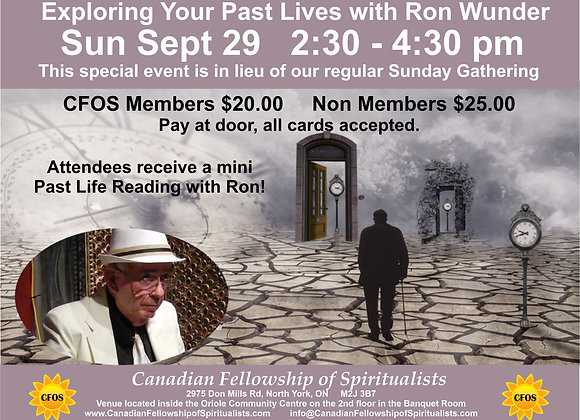 Exploring Your Past Lives with Ron Wunder
