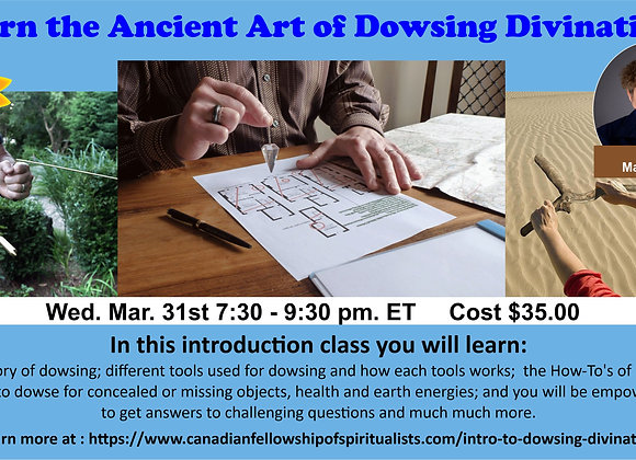 Introduction to the Ancient Art of Dowsing Divination