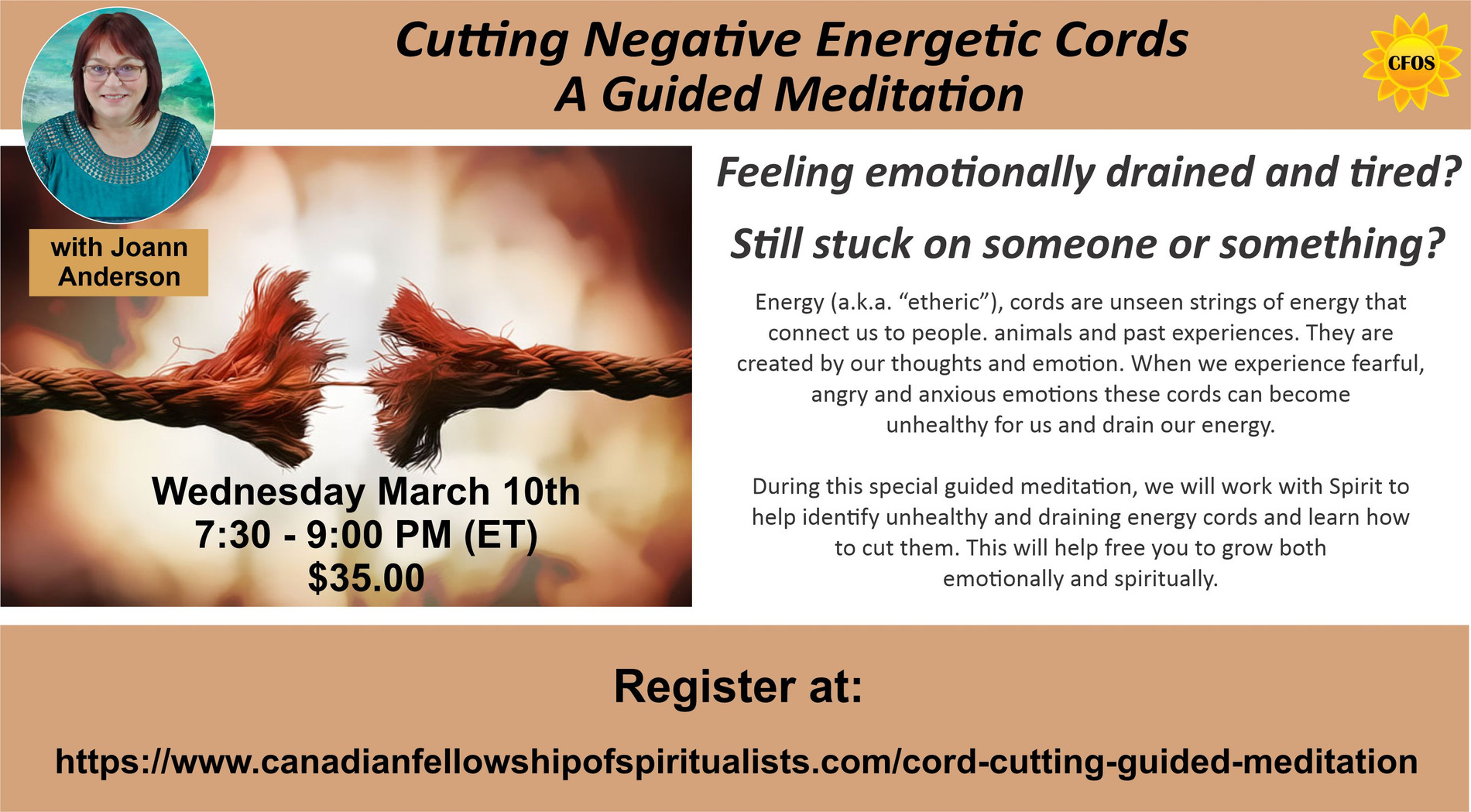 Cutting Negative Energetic Cord Meditation