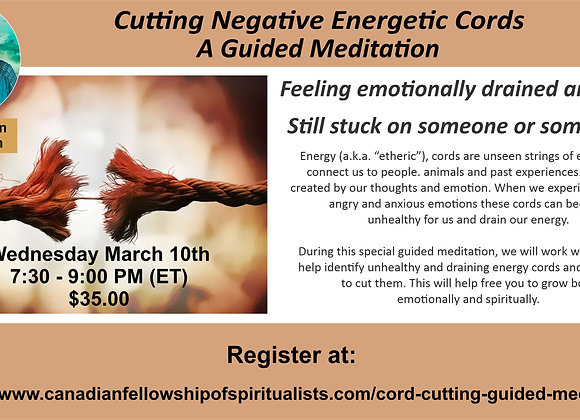 Cutting Negative Energetic Cords - A Guided Meditation