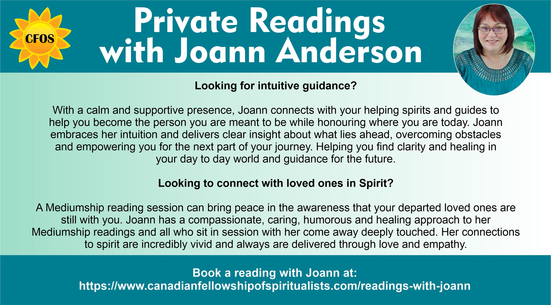 Joann Readings