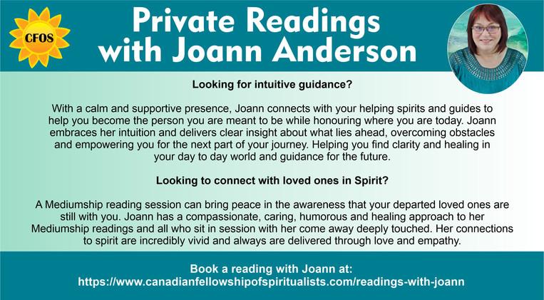 Joann Readings