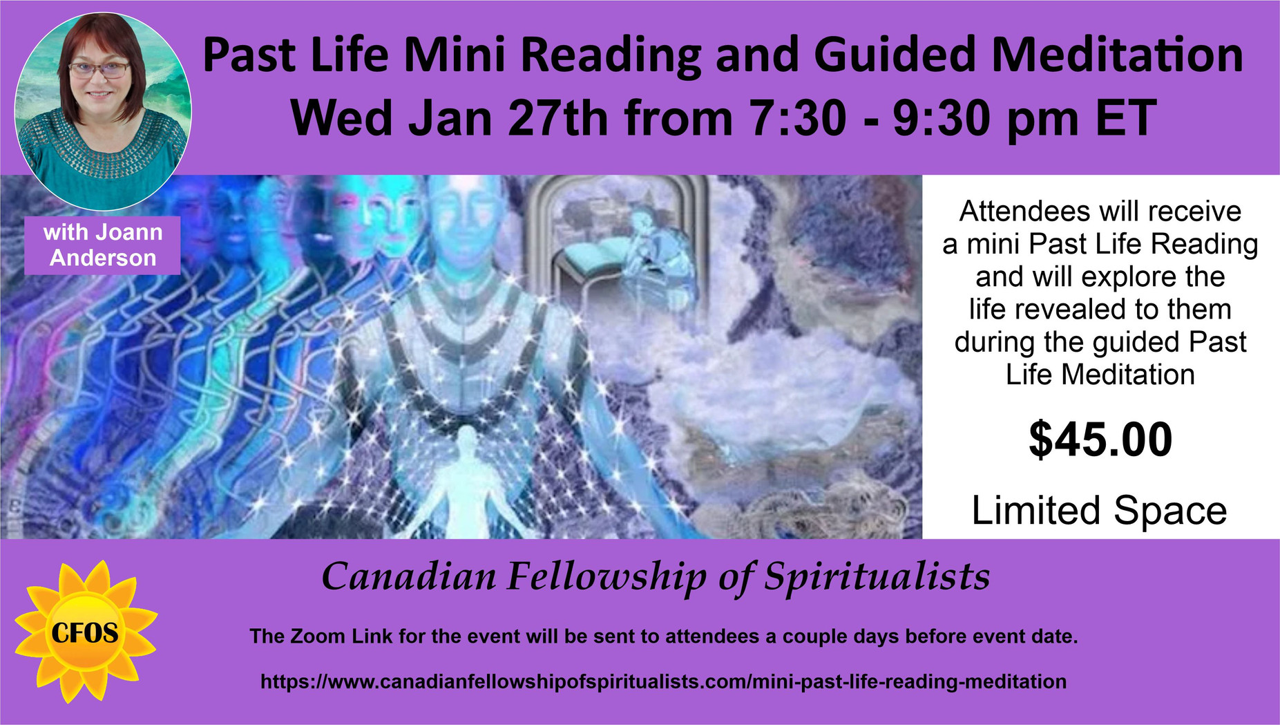 Mini Past Life Reading & Meditation
