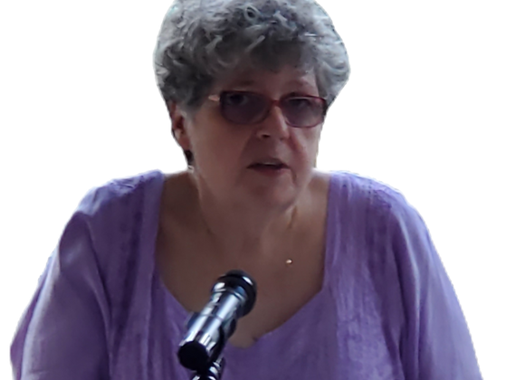 1:25 - 1:45  Online Reading with Rev. Sheila Scott via zoom
