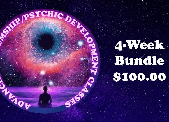 4-Class Bundle Advanced Mediumship and Psychic Development