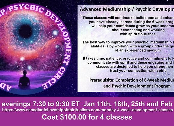 Monday Night Development classes (4 weeks)
