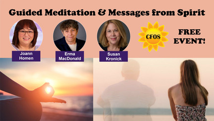 Guided Meditation and Messages from