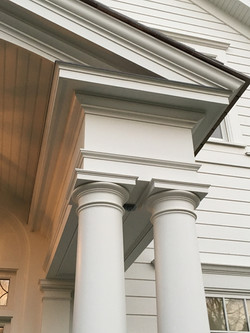 Private Residence Entry Portico