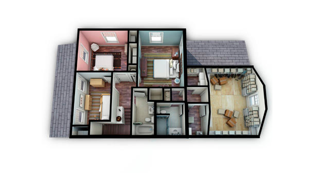 Builder Concept Home 2010 -2nd Floor