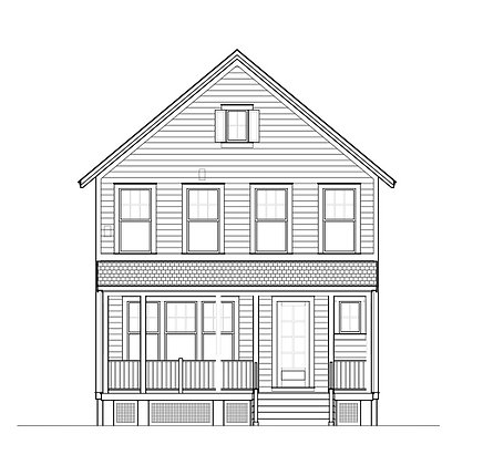 NEH 2.0 Gable Front - 5 Printed sets of plans