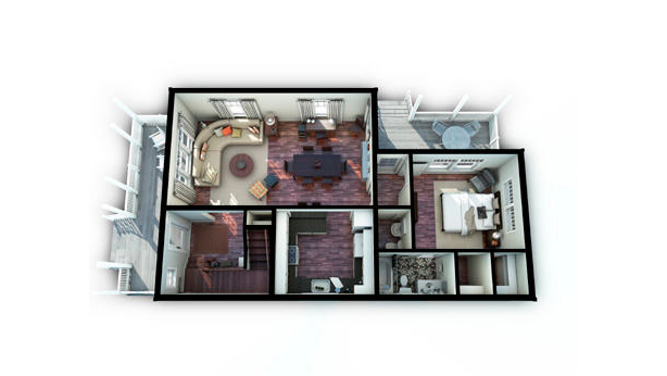 Builder Concept Home 2010 -1st Floor