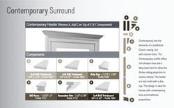 Royal Envelop - Contemporary Detail