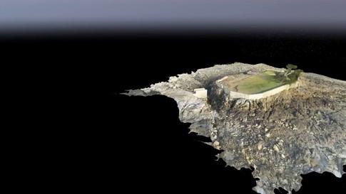 Modélisation 3D de l'île Dame Jouanne