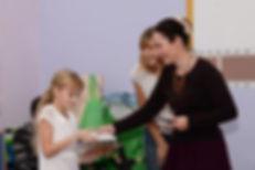 На награждении детей-иллюстраторов. Голицыно, библиотека, 1.11.2018г.