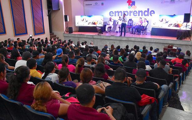 """""""EMPRENDE"""" abre oportunidades a los emprendedores de laUniversidad Tecnológica del Sur de"""