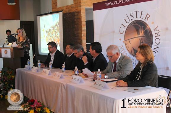1ER FORO MINERO DE RELACIONES COMUNITARIAS DEL CLÚSTER MINERO DE SONORA EN MAGDALENA DE KINO