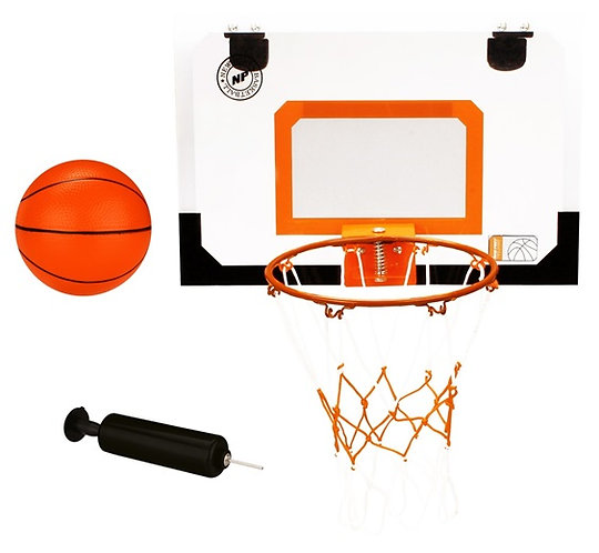New Port® MINI BASKETBALL BOARD WITH RING AND BALL WITH PUMP