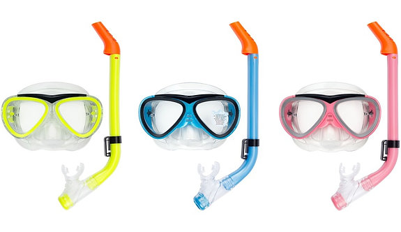 Waimea® DIVING MASK WITH SNORKEL • JUNIOR •