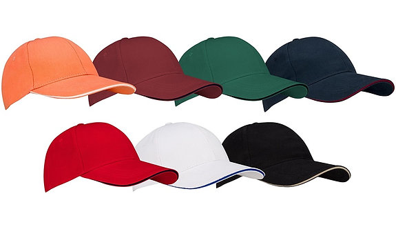 New Port® BASEBALL CAP JUNIOR • SANDWICH •