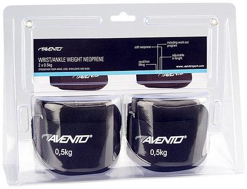Avento® WRIST/ANKLE WEIGHT NEOPRENE • 2 X 0.5 KG •