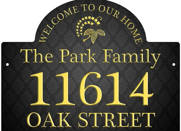 """11.5"""" X 15.25"""" HOUSE BUILDING SIGN"""