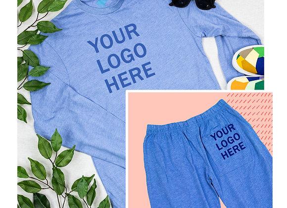 Custom Lounge Pants &  Long Sleeve T-Shirt