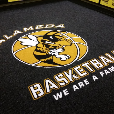 Custom Mat Carpet with Team Logo