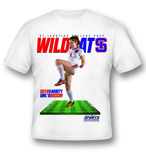 Sublimation T-Shirt (Full Front Print)