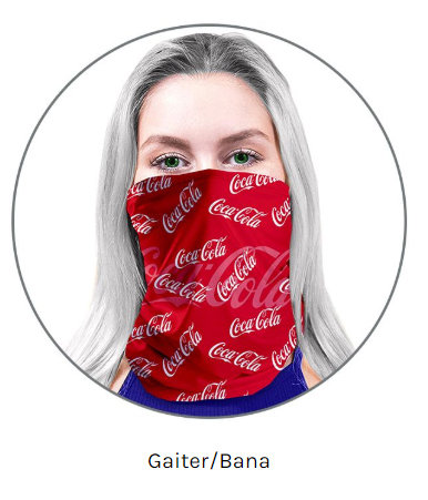 Custom Gaiter/Bana Face Cover