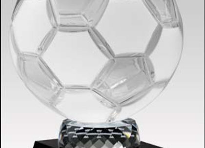 Frosted Crystal Sports Ball