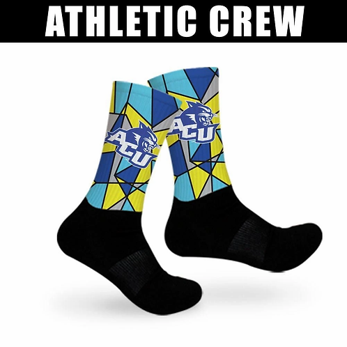 CUSTOM - ATHLETIC CREW SOCKS