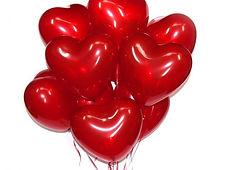 Сердце с гелием 12 дюймов