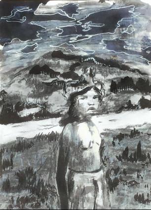 Michaela Clarence - Aboriginal Boy