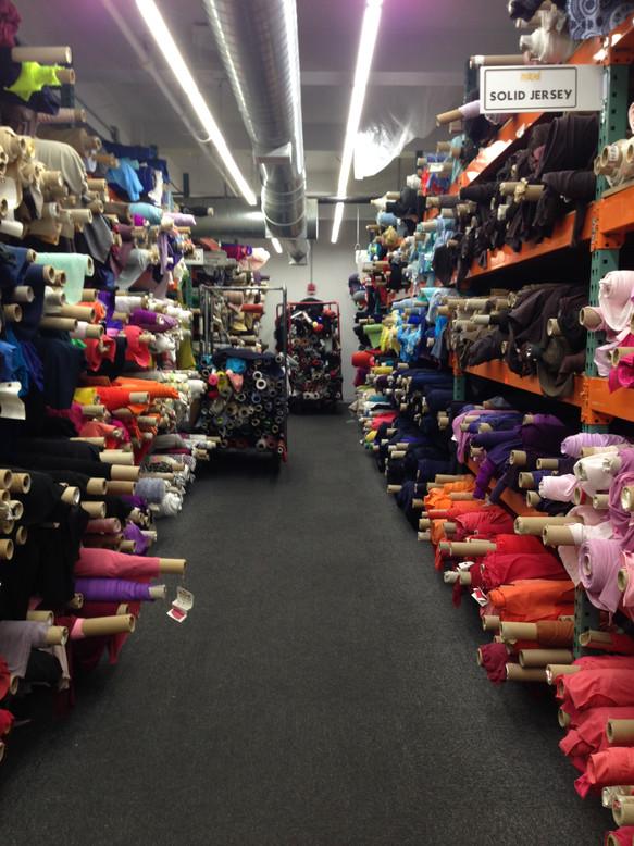 Fabric Shopping in New York
