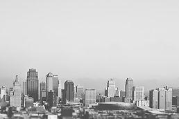 Noir et blanc Skyline