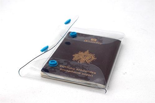 Etui PVC transparent format Passeport