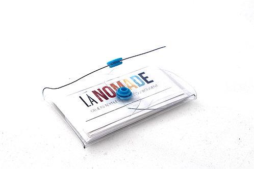 Etui PVC transparent format carte de visite
